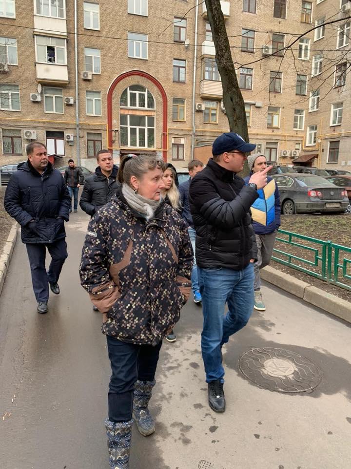 По результатам обхода района 7 марта на Соколе проведут благоустройство